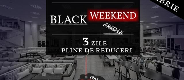 Black Weekend în CreatorMALL 23-25 Noiembrie