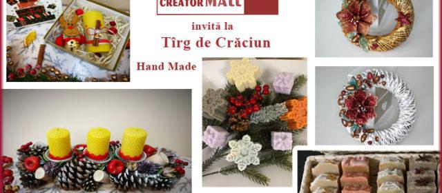 CreatorMALL invită la tîrgul de Crăciun